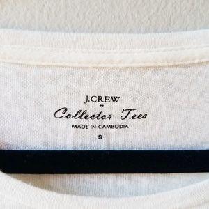J. Crew Tops - J. Crew Collector Tee Multipattern Llama Shirt